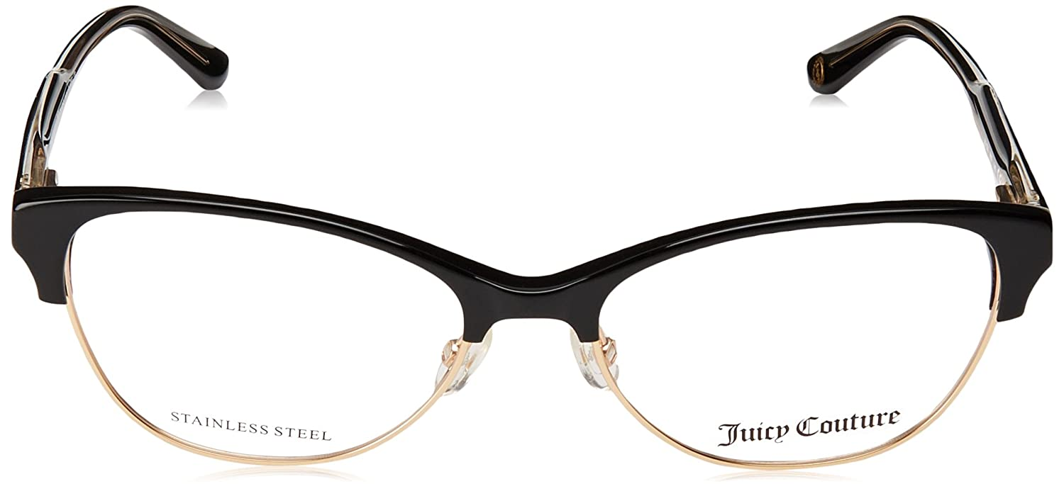 Juicy Couture JU174 Monturas de Gafas para Mujer, Black, 52 mm ...