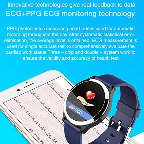 Mr.LQ B67S Smart Watch Bracciale ECG Blood Pressure Heart Rate Color Screen Braccialetto Intelligente per la Salute