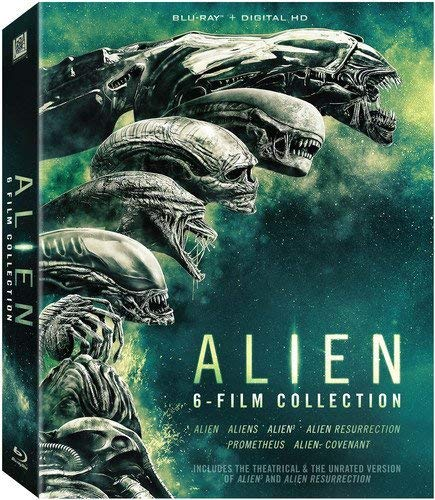 - Alien 6-film Collection [bd + Dhd] [Blu-ray]
