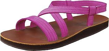 92eecfaefac Feelgoodz Women s Infinity Leather Sandals