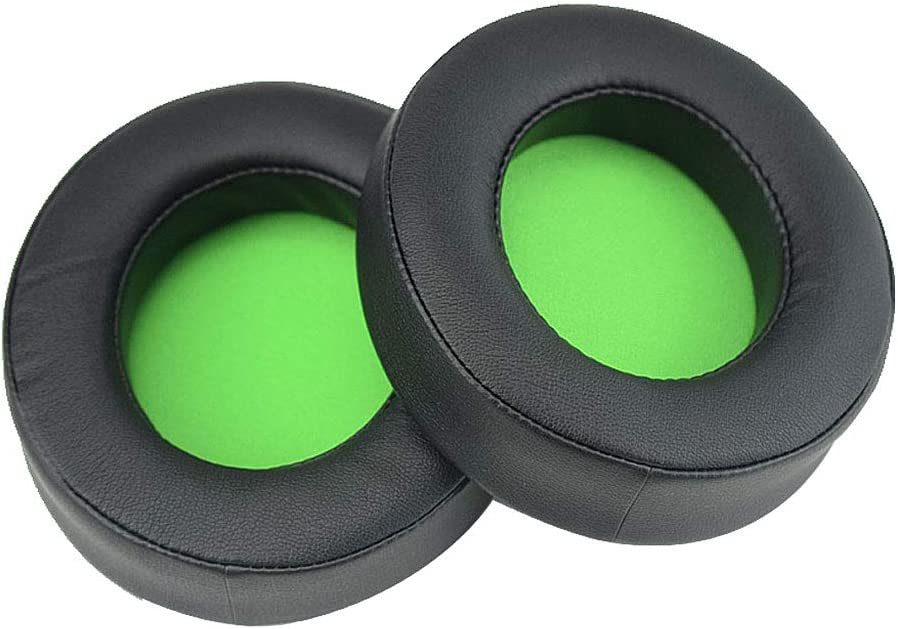 Sara-u 1Pair Replacement Earpads Ear Cushion Cups Cover Repair Parts for Razer Kraken PRO 7.1 V2 Gaming Headphones Headset Accessories