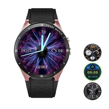 Amazon.com: Teepao[Updated Version KW88 3G Smart Watch WiFi ...