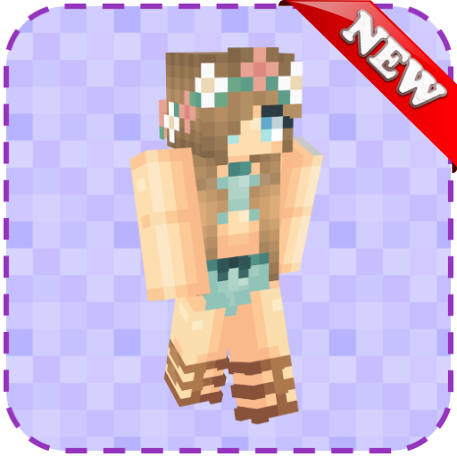 Hot girl in bikini minecraft skin Amazon Com Bikini Skins For Minecraft Pe Apps Games