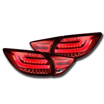 nighteye Mazda CX-5 foco LED luces de cola luz trasera luces DRL + freno + Park + señal - 3 años garantía: Amazon.es: Coche y moto