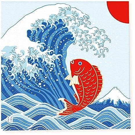 Japonés tradicional Patrón de la Serie Toalla de Papel Servilleta Pack de 10 - Japan Import
