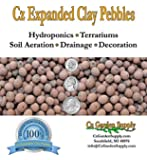 Hydroton Leca Expanded Clay Pebbles Grow Media - Orchids • Aquaponics • Aquaculture • Hydroponics - by Cz Garden Supply®