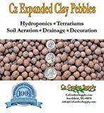 Cz clay pebbles are made of 100% natural clay and is inert, pH-neutral, clean and at the same time, decorative. Potting media for Orchids - Used alone or in combination with coconut husk chips, bark, charcoal or other orchid media, Clay Pebbles porou...