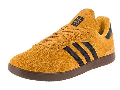 ee813ff34 adidas Skateboarding Men's Samba ADV Bold Gold/Core Black/Gum 5 4 ...