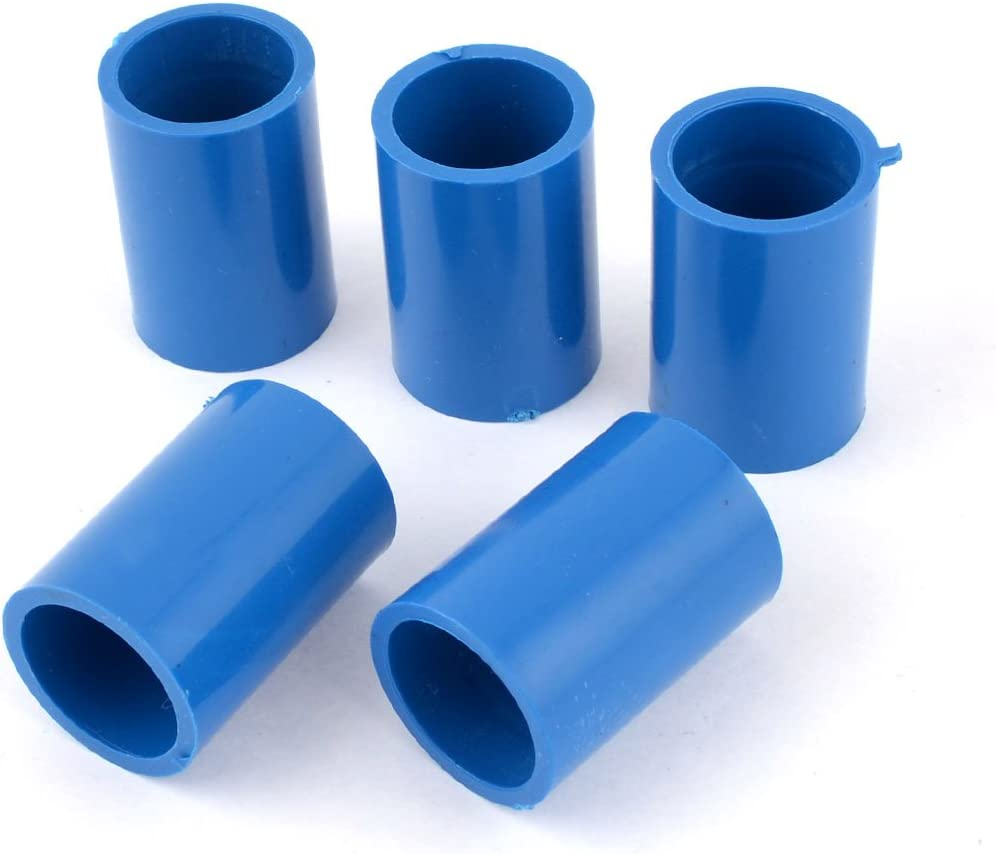 PVC 20mm-200mm ID Equal Water Supply Pipe 45° Elbow Fittings Adapter Connector