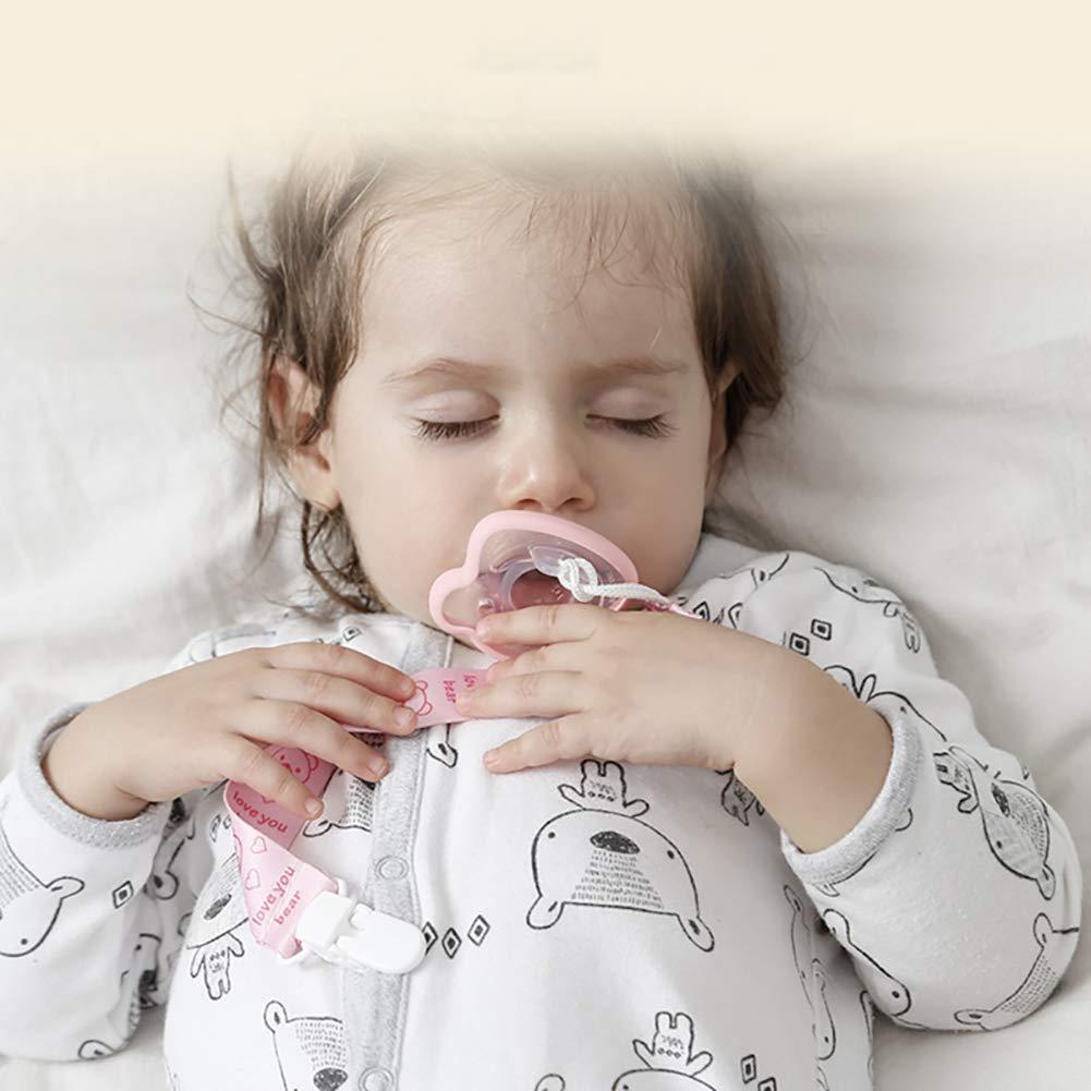 Naisicatar 1pc chupetes recién nacidos Chupete 0-6 bocas ...