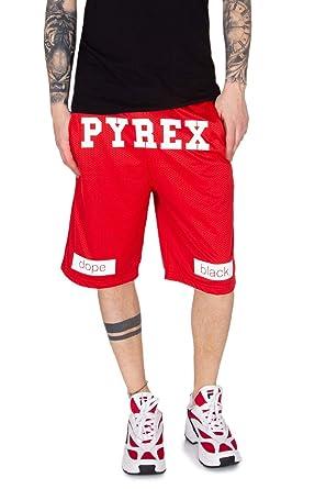 Pyrex Rouge ShortsVêtements Homme 34210red Coton Et c35AqR4jSL