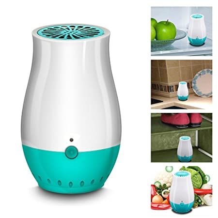 Intsun Powerful Mini Ionic Air Freshener Deodoriser Purifier USB - Bathroom air purifier