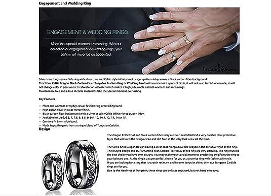 Tungsten Jeweler FE-HISHERRINGSET-287-11-8.5 product image 5