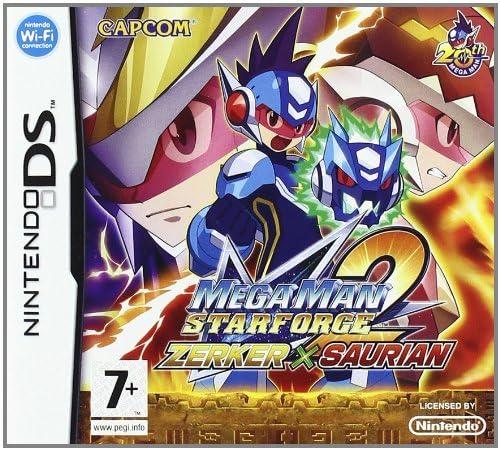 Mega Man Star Force 2 Zerker X Saurian Nintendo Ds Amazon Co Uk Pc Video Games