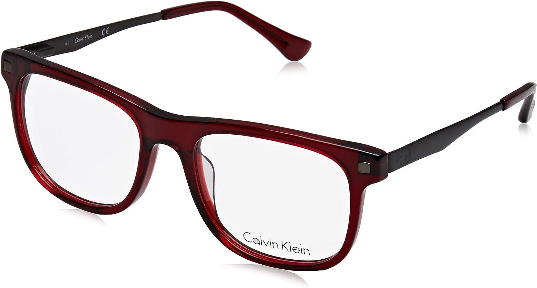 Calvin Klein CK5941 604 52 Lunettes de Soleil, Rouge