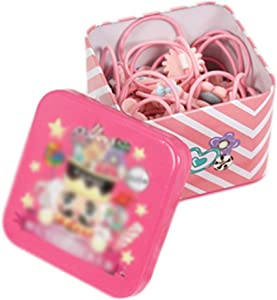 Black Temptation Cute Girls Hair Accessories Hair Clips Hair Bands Conjunto de Joyas Little Girl Presente de cumpleaños #1