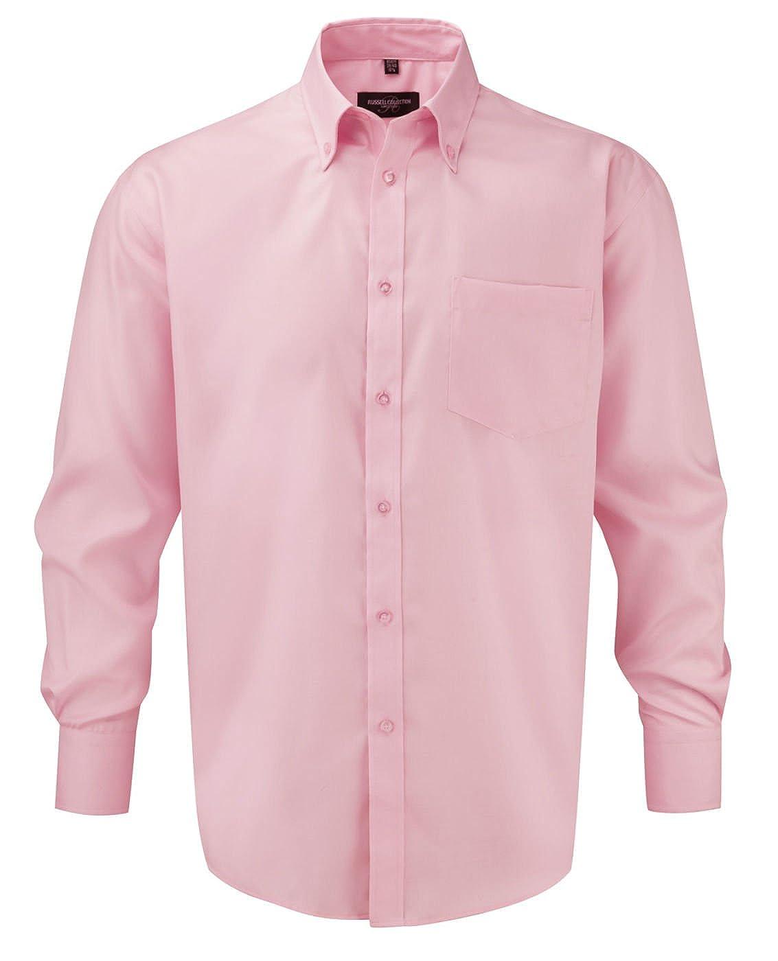 Russell Langarm Shirt Ultimate bügelfrei