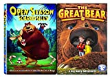 Open Season: Scared Silly & The Great Bear: A Big Hairy Adventure DVD Animated Set