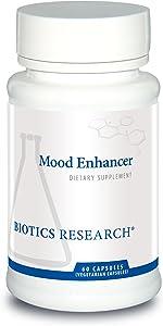 Biotics Research Mood Enhancer Neurological Health, Nootropics, Brain Health, 5 HTP, Serotonin Precursor, St. John's Wort, Neurotransmitter Function, Memory, Mood, Sexual Health, Sleep Support. 60caps