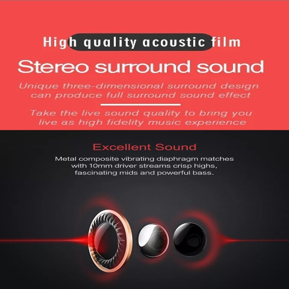 Suns Extra Bass Earphones For Mobile With Mic Headphone Ecko Jack Wiring Diagram Electronics