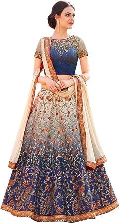 Robe de Mariage Indienne Lehenga \u0026 ❉