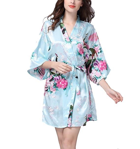 TT Global TieNew Lencería Kimono Cordón Batas Camisón Dormir Transparente Malla con Tanga: Amazon.es: Ropa y accesorios