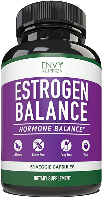 Estrogen Balance With Dim For Women Menopause Relief Estrogen Blocker And Hormonal Acne Treatment Plus Bioperine 5mg 60 Day Supply
