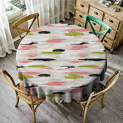 Rank-T Clear Round Tablecloth 35
