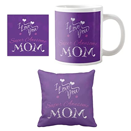 Buy Yaya Cafe Birthday Gifts For Mother Super Awesome I Love Mom