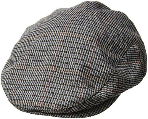 Brixton Men's Hooligan Driver Snap Hat, Tan/Navy, Large