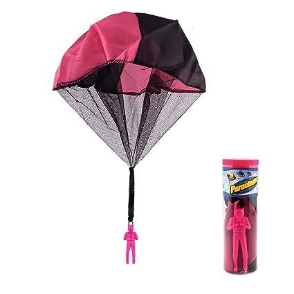 Goolsky Los Ninos Lanzan A Mano Paracaidas Y Juguetes Divertidos