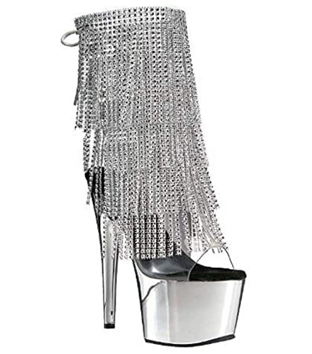 5f2d24b4b0c Amazon.com | Pleaser Adore-1017RSF Exotic Dancer, Clubwear Ankle Hi ...
