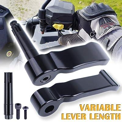 UNIGT Adjustable Thumb Throttle Lever Replacement for Polaris Scrambler Sportsman 550/570/850/1000 2009-2020 Aluminum #2010336/2010359: Automotive