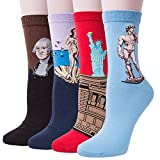 4 Pack Of Men Colorful Socks