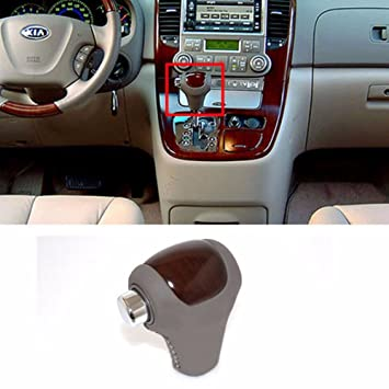 Amazon auto gear shift knob wood beige for kia 2006 2014 auto gear shift knob wood beige for kia 2006 2014 sedona carnival oem parts sciox Image collections