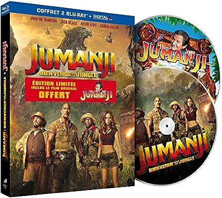 Jumanji : Bienvenue dans la jungle Francia Blu-ray: Amazon.es ...