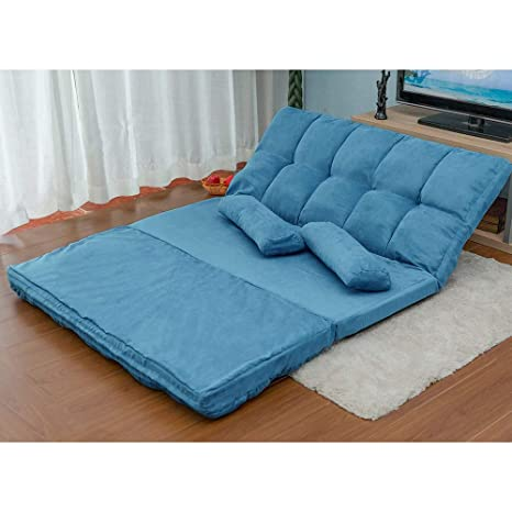 Amazon.com: Adjustable Chaise Lounge Sofa Chair Floor Couch ...