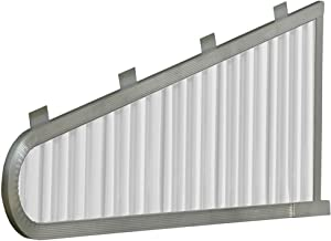 NuImage Awnings 42000 Aluminum Vented Sidewings, White