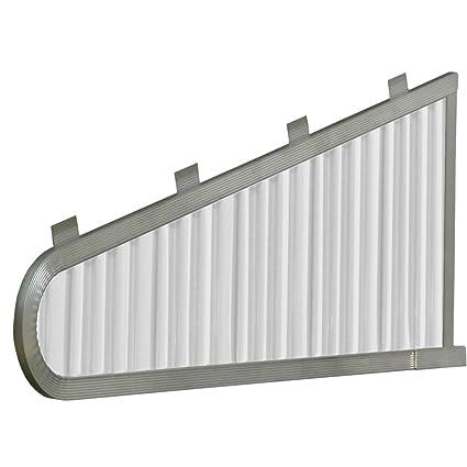 Nuimage Awnings 42000 Aluminum Vented Sidewings White Amazon Com