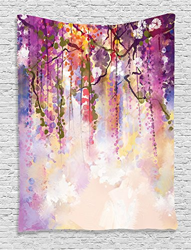 Ambesonne Watercolor Collection Background Accessories