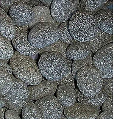 Amazoncom Rockstarz 2 Pounds Decorative Stones Black Lava Beach