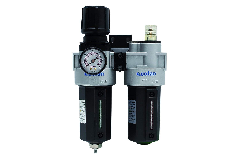 COFAN Luftfilter mit Regler 3/8; 1,0–15,0kg Max; 2700