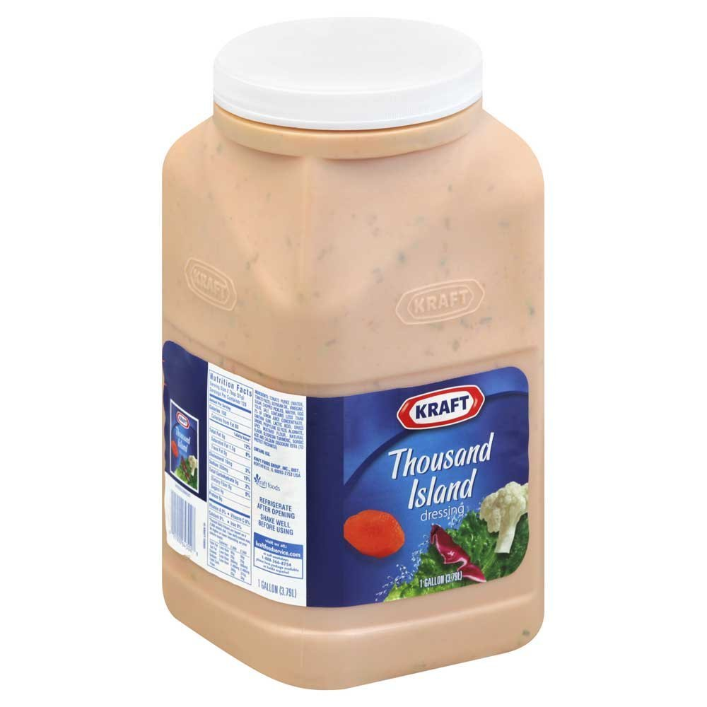Dressing Thousand Island Pourable 4 Case 1 Gallon
