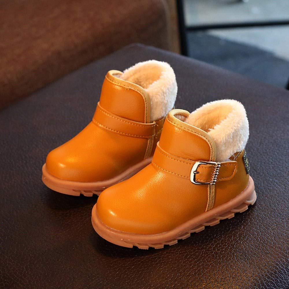 Boys Girls Martin Sneaker Snow Boots Baby Warm Casual Shoes