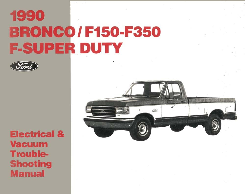 Marvelous Amazon Com Bishko Automotive Literature 1990 Ford F150 F350 Truck Geral Blikvitt Wiring Digital Resources Geralblikvittorg
