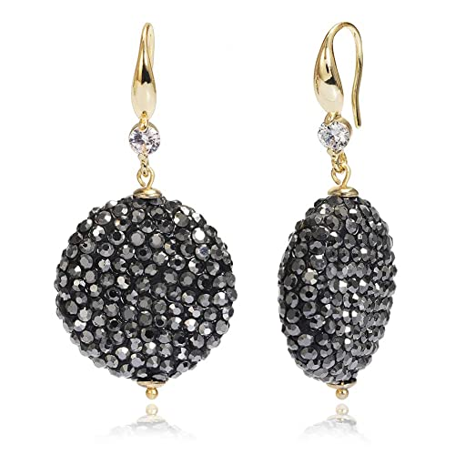 35cb41e26 Mother's Day Gift-Womens Dangle Drop Hook Earrings,Ladies Christmas Crystal  Earrings for Women