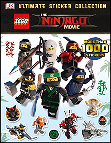 Ultimate Sticker Collection: The Lego r Ninjago r Movie ...