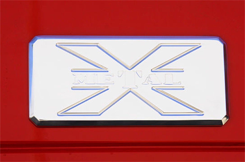 T-Rex 6700012 X-Metal Series Chrome Body Side Badge T REX