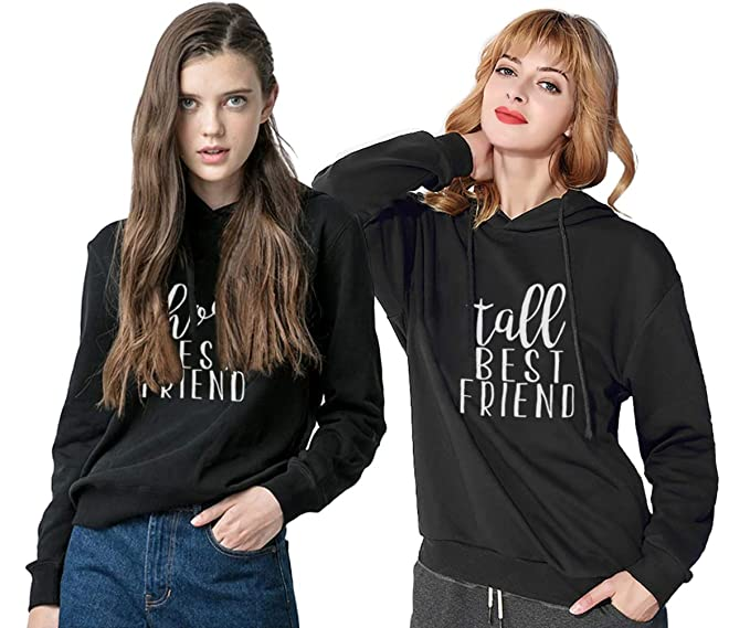 Amazoncom Matching Sweaters For Best Friends Hoodies Bff For Teen