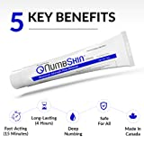 Numbing Cream 5% Lidocaine Topical Anesthetic- Fast Acting Tattoo Numbing Cream for Deep Pain Relief & Numbing Cream for Microneedling/Piercing/Microblading/Laser Hair Removal/Electrolysis